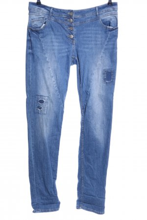 Cecil Five-Pocket Trousers blue casual look