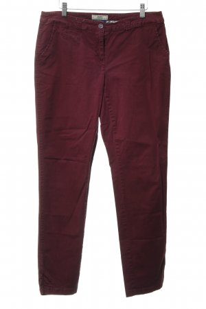 Cecil Five-Pocket-Hose purpur Casual-Look
