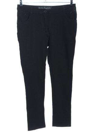 Cecil Pantalón de cinco bolsillos negro look casual