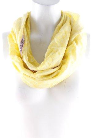 Cecil Neckerchief yellow-white allover print casual look