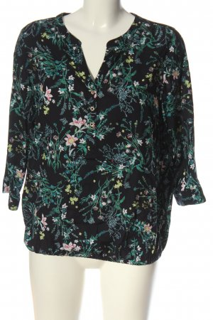 Cecil Hemd-Bluse Allover-Druck Casual-Look