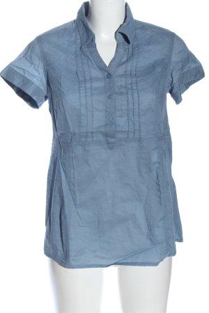 Cecil Hemd-Bluse blau Casual-Look