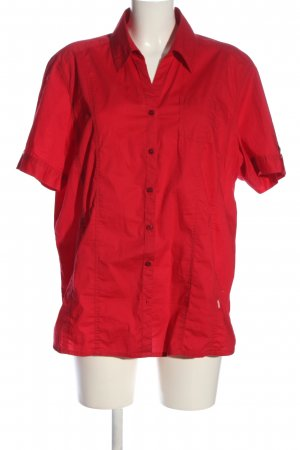 Cecil Hemd-Bluse rot Business-Look