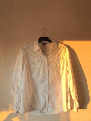 Cecil Flanellen hemd wit