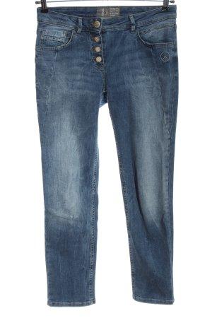 Cecil High Waist Jeans blau Casual-Look