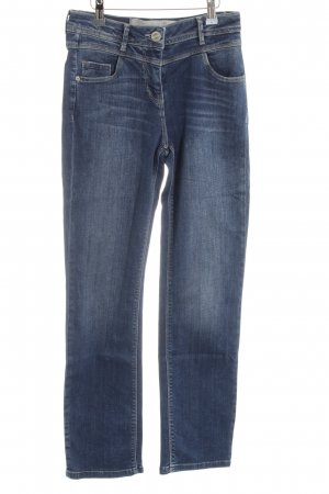 Cecil Hoge taille jeans blauw casual uitstraling