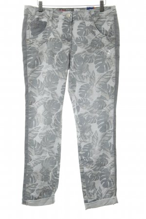Cecil Hoge taille jeans lichtgrijs casual uitstraling