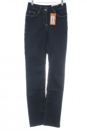 """Cecil Hoge taille jeans """"Stretch"""" donkerblauw"""