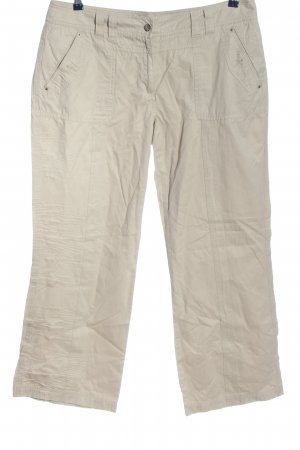 Cecil Low-Rise Trousers light grey casual look
