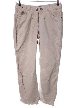 Cecil pantalón de cintura baja blanco puro look casual