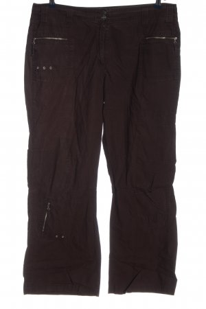 Cecil Low-Rise Trousers brown casual look