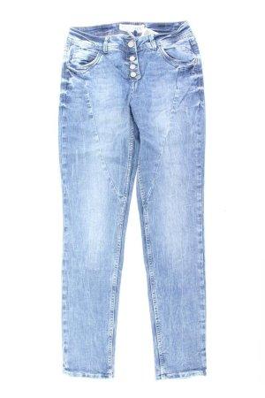 Cecil Jeans blu-blu neon-blu scuro-azzurro Cotone