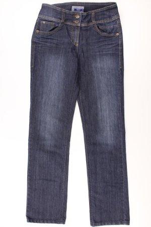 Cecil Jeans blue-neon blue-dark blue-azure cotton