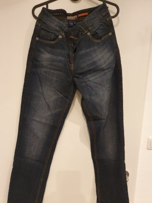 Cecil Low Rise Jeans dark blue
