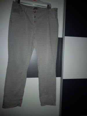 Cecil Pantalone jersey grigio chiaro