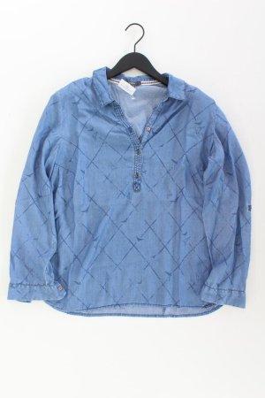 Cecil Denim Blouse blue-neon blue-dark blue-azure lyocell