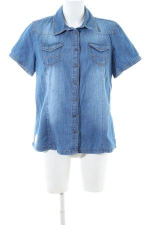 Cecil Jeanshemd blau Casual-Look