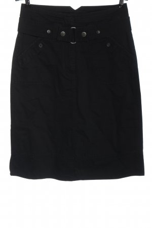 Cecil Denim Skirt black casual look