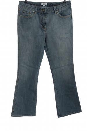 Cecil Jeansschlaghose blau Casual-Look