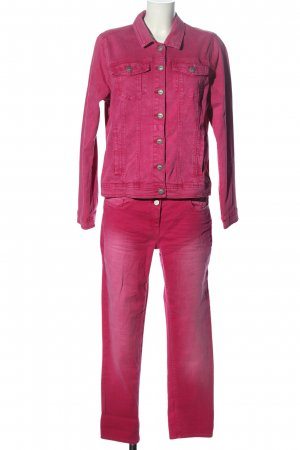 Cecil Jersey Twin Set pink Casual-Look