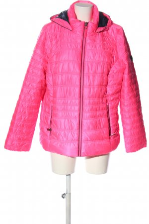 Cecil Hoody pink quilting pattern casual look