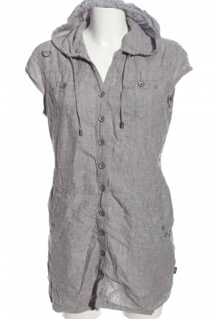 Cecil Hooded Dress light grey flecked casual look
