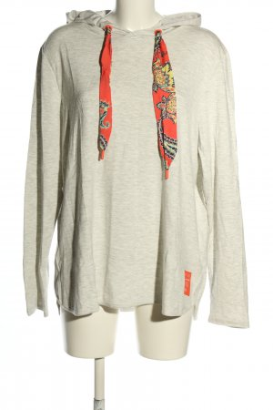Cecil Hooded Shirt white flecked casual look