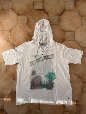 Cecil Shirt met capuchon wit