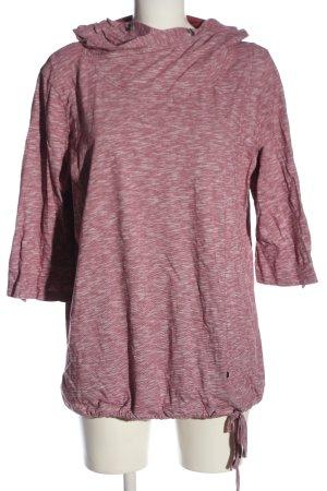 Cecil Kapuzensweatshirt pink meliert Casual-Look