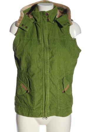 Cecil Smanicato con cappuccio verde stile casual