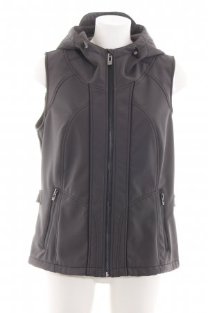 Cecil Hooded Vest light grey casual look