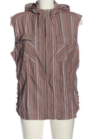 Cecil Capuchon vest gestreept patroon casual uitstraling