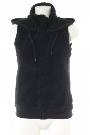 Cecil Gilet à capuche noir style décontracté