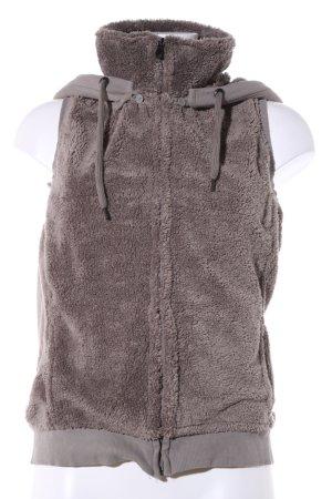 Cecil Chaleco con capucha gris claro look casual