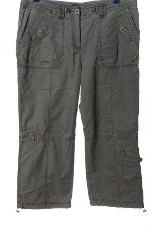 Cecil Pantalon kaki gris clair style décontracté
