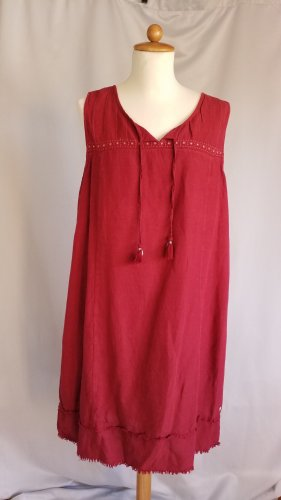 Cecil Tunic Dress dark red