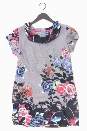 Cecil Kleid mit Blumenmuster Größe S grau aus Baumwolle