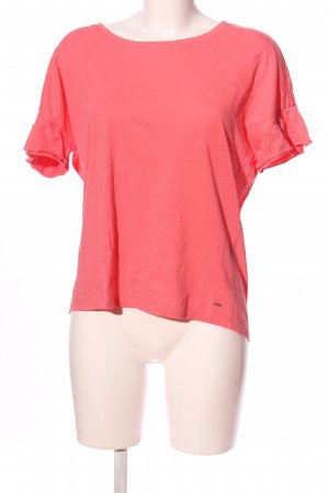 Cecil Kurzarm-Bluse pink Casual-Look