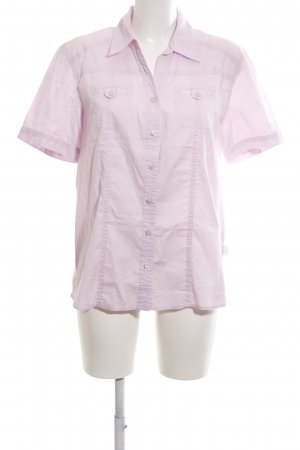 Cecil Kurzarm-Bluse pink Business-Look