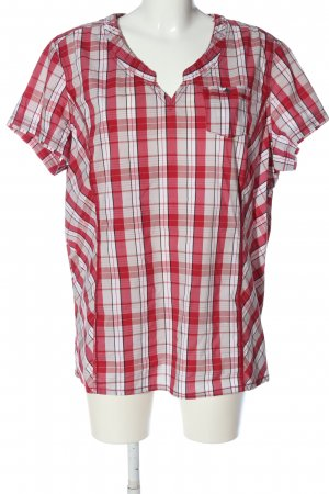 Cecil Kurzarm-Bluse Karomuster Casual-Look