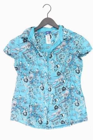 Cecil Short Sleeved Blouse blue-neon blue-dark blue-azure