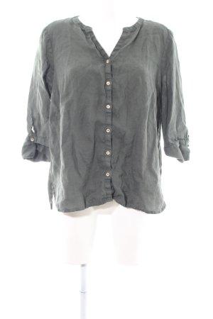Cecil Shirt met korte mouwen lichtgrijs casual uitstraling