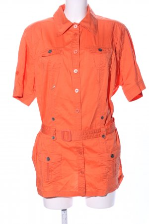 Cecil Camicia a maniche corte arancione chiaro motivo animale stile casual