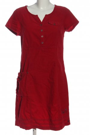 Cecil Robe à manches courtes rouge style décontracté