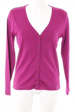 Cecil Langarm-Bluse pink Casual-Look