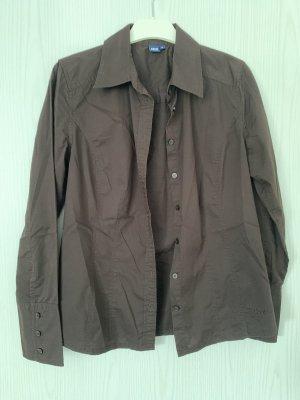 Cecil Langarm-Bluse braun Größe S