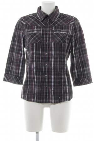 Cecil Langarmhemd abstraktes Muster Casual-Look
