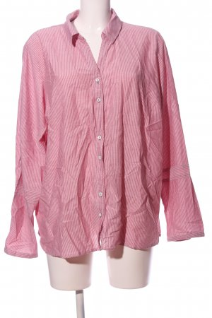 Cecil Langarmhemd pink-weiß Streifenmuster Business-Look