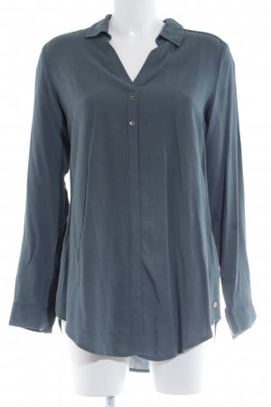 Cecil Long-Bluse blau Business-Look