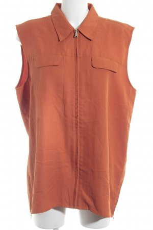 Cecil Long-Bluse dunkelorange Casual-Look
